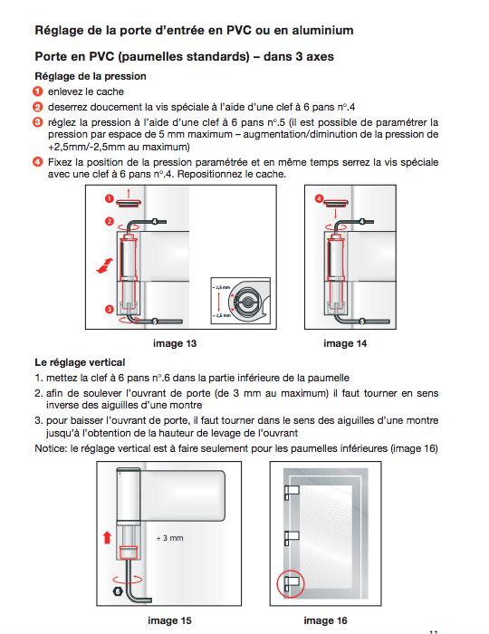 Comment faire les reglages d une fenetre pvc 4
